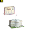 White House cubic fun eva foam 3d jigsaw puzzle paper world famous building model toys