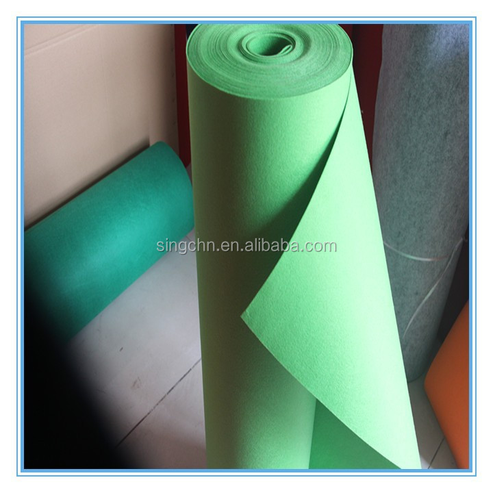 Polyester nonwoven fabric felt /factory supplier felt fabric