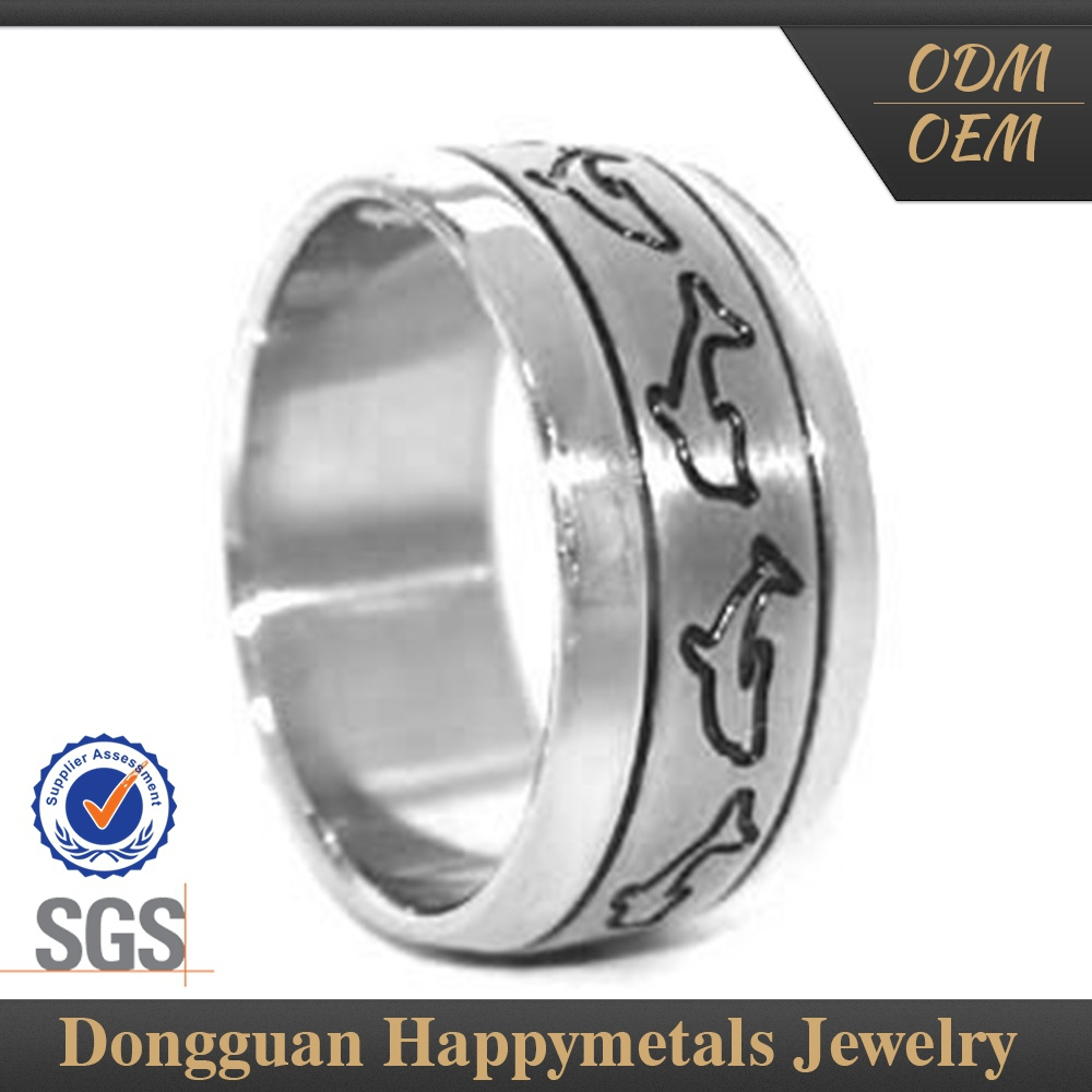 Stainless Steel Custom Shape Lasered Titanium Rigging Ring