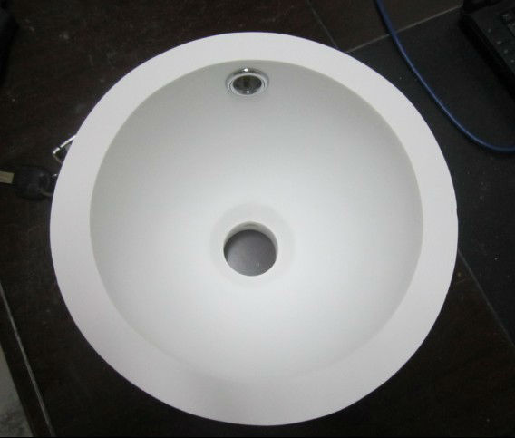 round wash basin can use for bathroom/laboratory/toilet