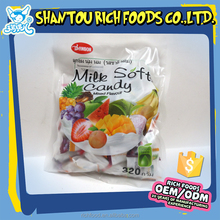 hot sale sweet delicious fruit flavor soft candy for sale