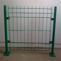 Factory PVC coated welded wire mesh fence