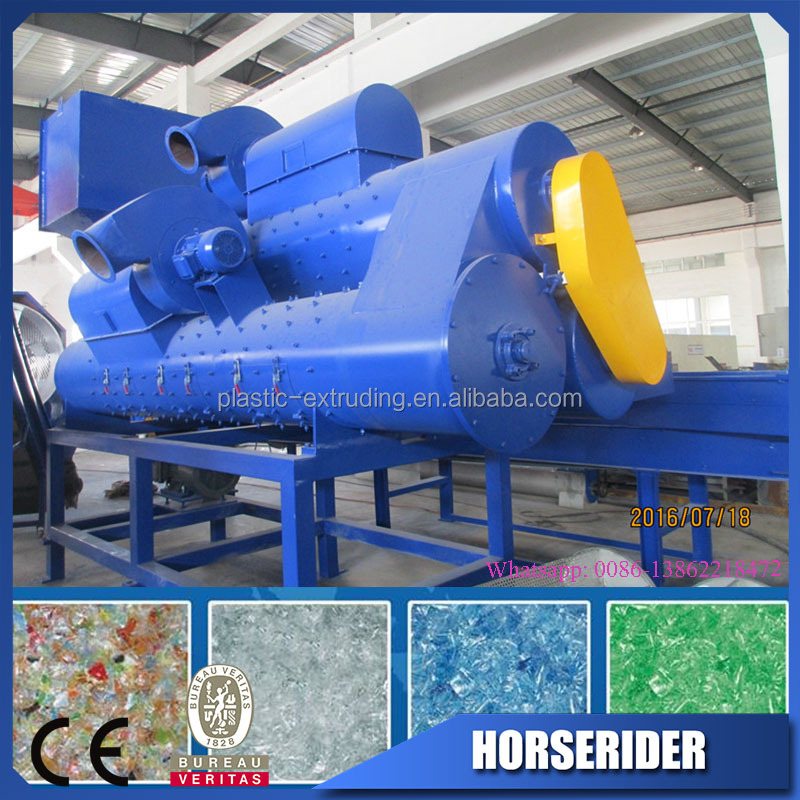 bottles flakes recycling line/PET bottle recycling machine/plastic recycling machine