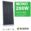 best brand mono 200w solar panel manufacturers in china