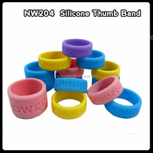 2016 new style fashion sports finger band silicone teething ring