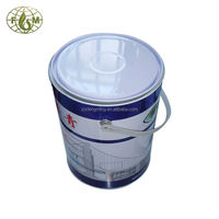 5L plastic handle packing barrel