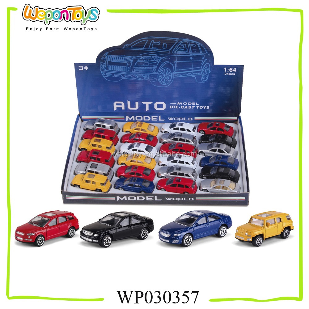 popular 1:64 scale pull back metal car with music and light toy car model metal car toys