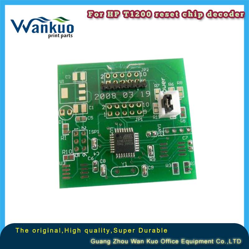 reset chip decoder for HP designjet T610 T770 T790 T1300 T2300 T1120 T1200
