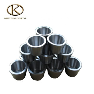 Customized 99.95% High Purity High Temperature Molybdenum Cup Crucibles Moly crucible for Vacuum Coating