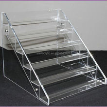 New Nail Polish Art Table Rack Display Up to 36 Bottles Acrylic Organizer Stand