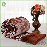 Korean High Quality Plain Super Soft Coral Fleece Blanket
