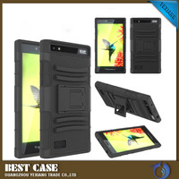new style belt clip back cover 2 in 1 combo cover case for blackberry z3
