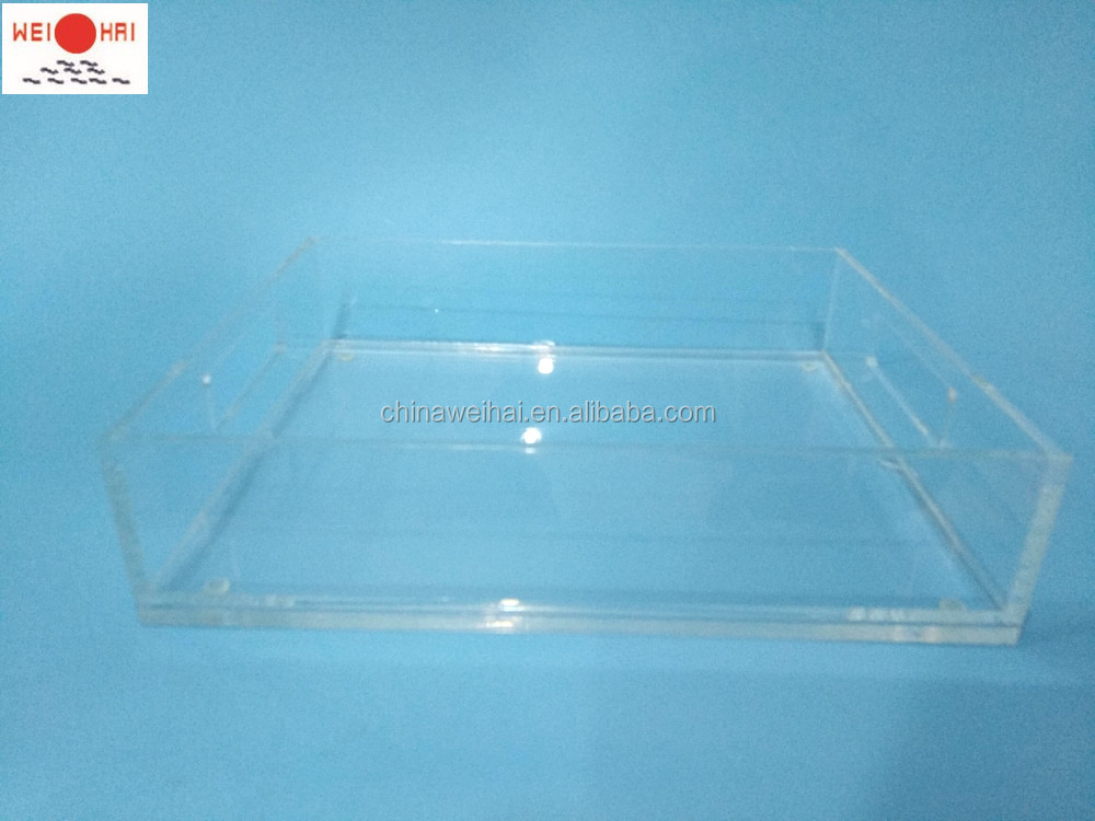 Clear Acrylic Trays
