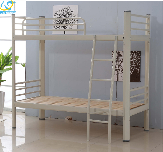 Latest double layer design wooden military/children bunk bed