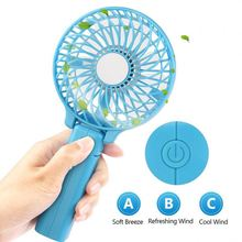 BSCI Factory Handheld Mini Clip USB Portable Folding Air Cooling Electric Motor Cooling Fan for Outdoor and Indoor