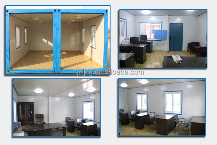 20ft prefab container house/container homes/container cabin