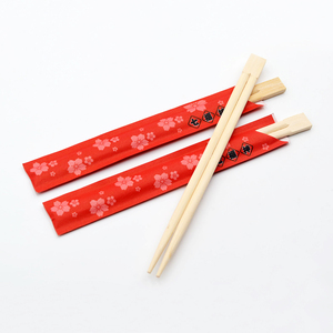 Wholesale restaurant custom bamboo chopsticks disposable