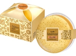 Premium sandalwood Collagen Gold Facial Soap