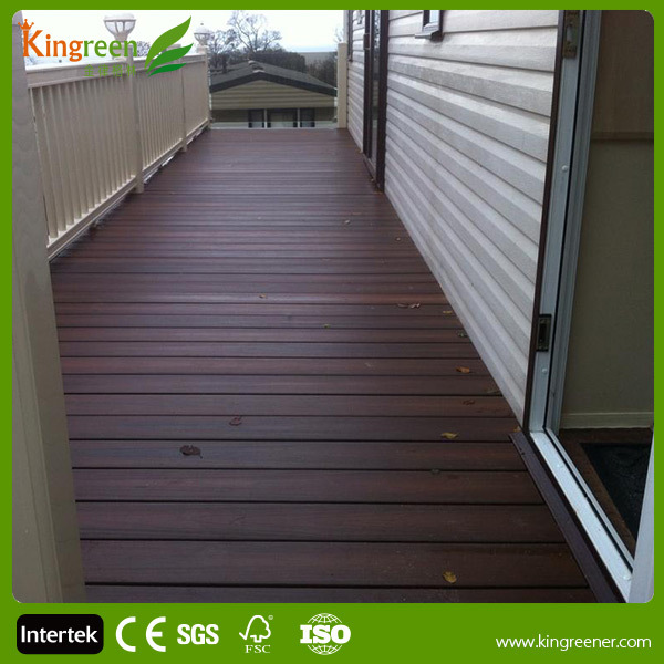 Plastic timber green building materials 100% eco friendly green building decking boards durable for construction project