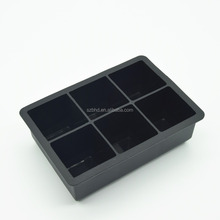 Wholesale Easy Release Large Custom Shaped Personalized Silicone Ice Cube Tray With Lid