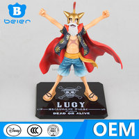 15cm PVC Luffy figure toy, cartoon characters toy, custom made anime figure