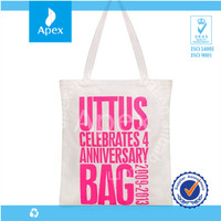 Wholesale custom cotton shopping bag