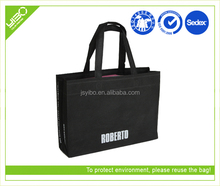 Recycle reusable non woven custom tote bag