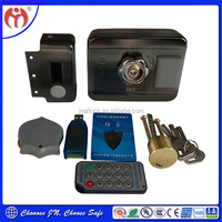 New products Shopping website Security Locks for door JN918 Card Access Remote Control Electric Rim Lock