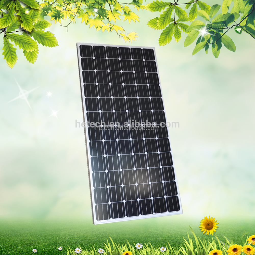 A grade low price china suppliers Mono solar panel 36v 310w solar panel