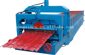 China Steel Roof Forming Machine, Roofing Sheet Profiling Machine, Roofing Tile Press Machine