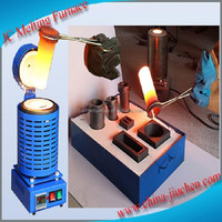 Industrial Electric Induction Copper Aluminum Melting Furnace Price