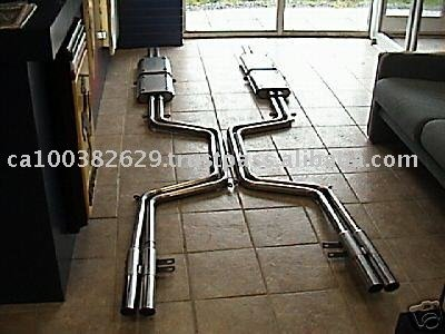 Stainless Steel Exhaust, Muffler For Ferrari 365 GT 2 + 2 Exhaust System,