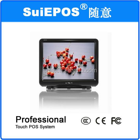Hot sales 15 inch pos system all in one dual core D525 computer