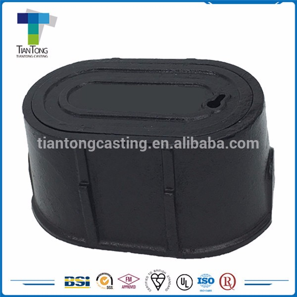 Best Quality cast iron water valve meter box cover