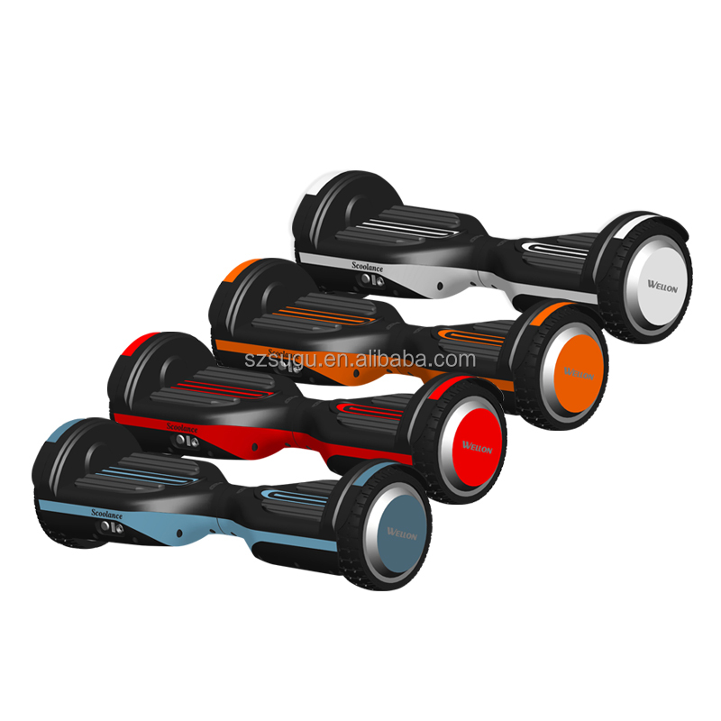 6.5,8,10 inch custom wholesale hoverboard with CE ,FCC,RoHS samsung battery factory