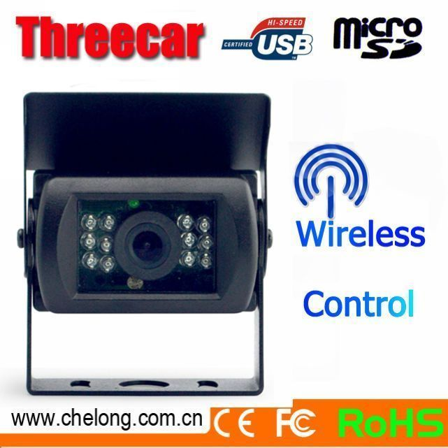 Alibaba Newest 12M Wireless control Color CMOS 12pcs IR high resolution bus car side view camera