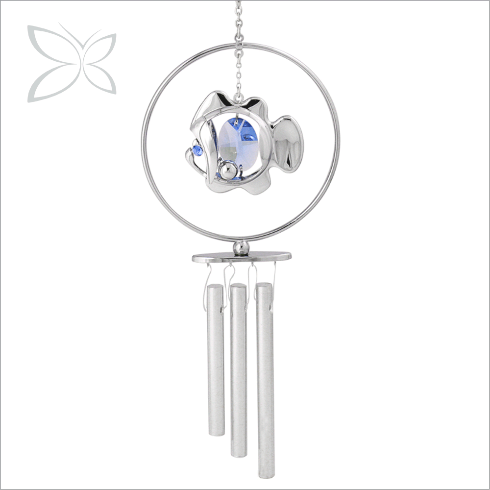 High Quality Sanctity Sliver Plated Metal Wind Chime Wholesale