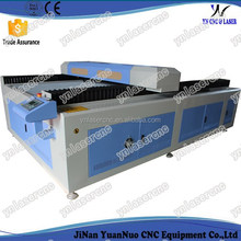YNL1325 jinan 3d glass tube laser engraving machine price for wood,acrylic,perspex, plexiglass