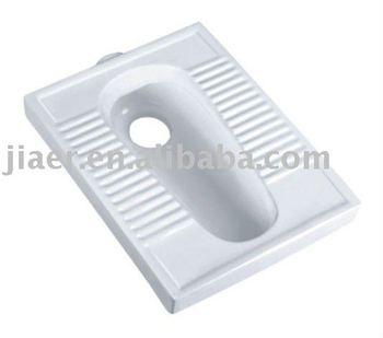 Ceramic Toilet Squatting Pan 2507