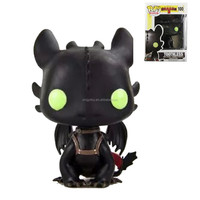 New in Box How to Train Your Dragon Toothless No.100 Vinyl 11cm/4.5