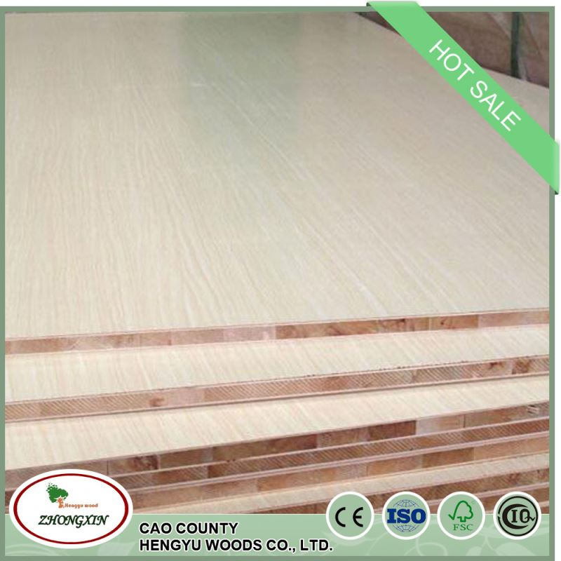 stand decorative colors melamine 1220*2440*18mm poplar block board