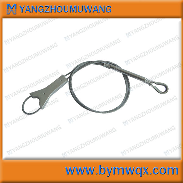 Husbandry noose metal pig noose pig catcher veterinary products