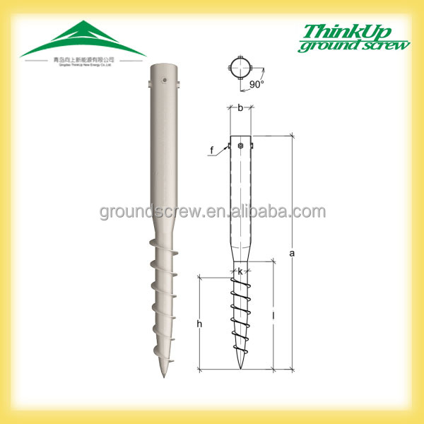 The best price OEM hot dipped galvanized japan Stainless Steel Ground Anchor