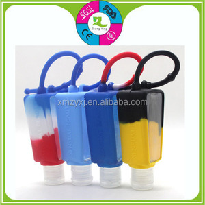 silicone perfume hand sanitizer holder /silicone bottle covers/ BBWholder
