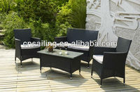 KD Style Outdoor Furniture Wicker Sofa Set