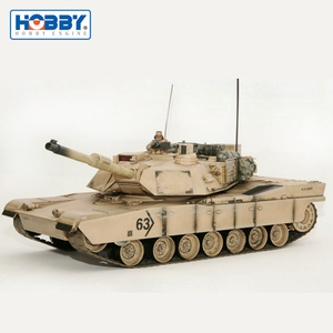 Firing Capability Airsoft Barrel RC Tank of German Leopard 2A6 Tank