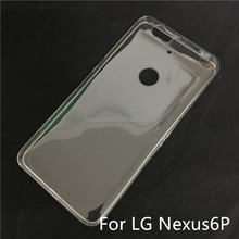 Soft TPU Silicon Transparent Clear Case for LG nexus 6P