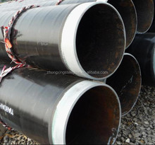 3PE coating seamless steel pipe/pe pipe/coating steel pipe