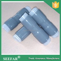 Cell Site Coaxial Cable Sleeve Silicone Rubber Cold Shrink Tube