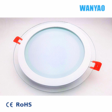 18w Round Glass Led Recessed Panel Light